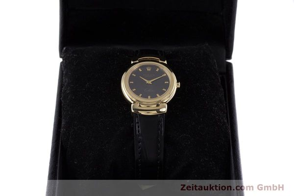 Used luxury watch Rolex Cellini 18 ct gold quartz Kal. 6620 Ref. 6621  | 160012 07