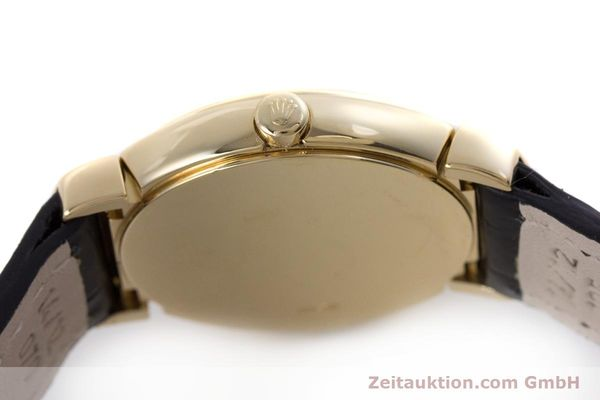 Used luxury watch Rolex Cellini 18 ct gold quartz Kal. 6620 Ref. 6621  | 160012 08