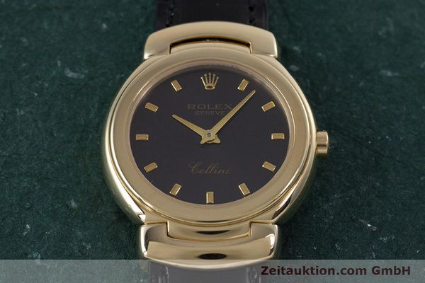 Used luxury watch Rolex Cellini 18 ct gold quartz Kal. 6620 Ref. 6621  | 160012 16