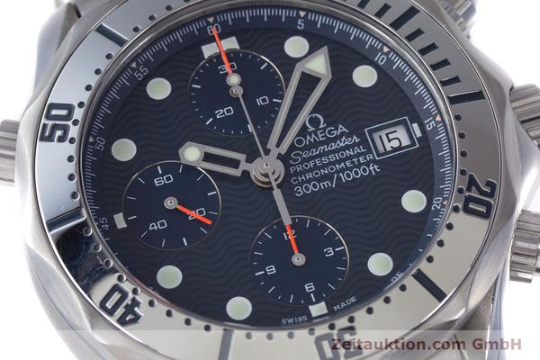 Used luxury watch Omega Seamaster chronograph steel automatic Kal. 1164 Ref. 25988000  | 160013 02