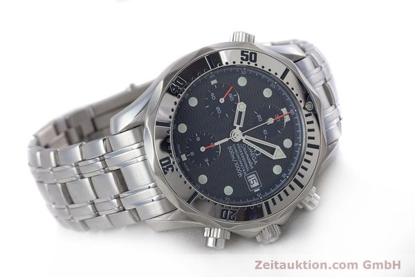 Used luxury watch Omega Seamaster chronograph steel automatic Kal. 1164 Ref. 25988000  | 160013 03