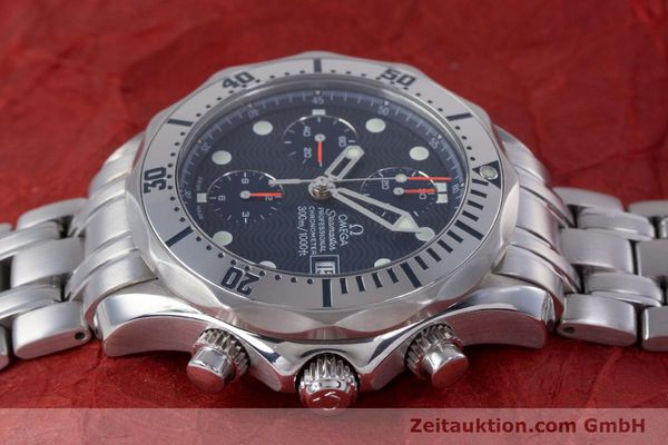 Used luxury watch Omega Seamaster chronograph steel automatic Kal. 1164 Ref. 25988000  | 160013 05