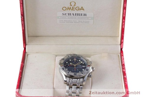 Used luxury watch Omega Seamaster chronograph steel automatic Kal. 1164 Ref. 25988000  | 160013 07