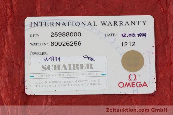 Used luxury watch Omega Seamaster chronograph steel automatic Kal. 1164 Ref. 25988000  | 160013 08