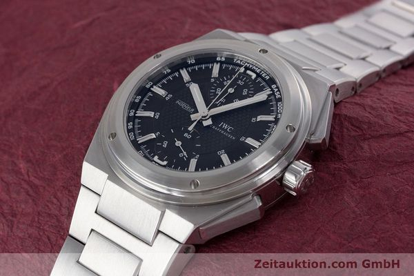 Used luxury watch IWC Ingenieur chronograph steel automatic Kal. 79350 Ref. 3725  | 160025 01
