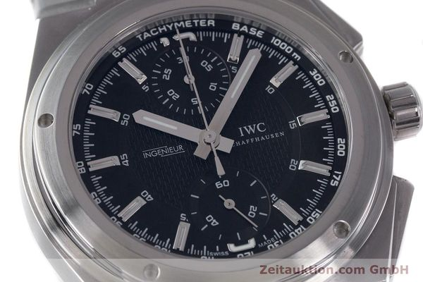 Used luxury watch IWC Ingenieur chronograph steel automatic Kal. 79350 Ref. 3725  | 160025 02