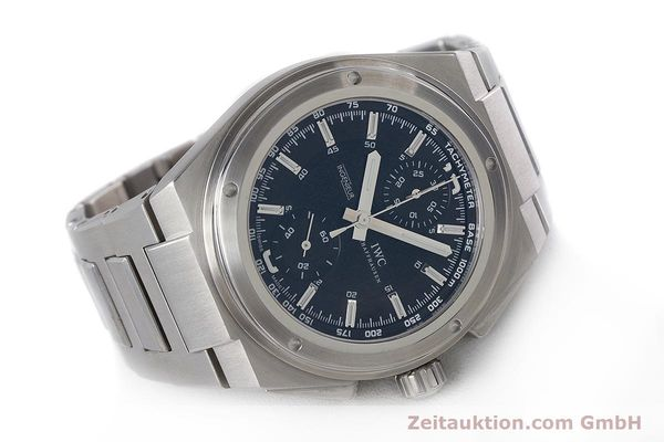 Used luxury watch IWC Ingenieur chronograph steel automatic Kal. 79350 Ref. 3725  | 160025 03
