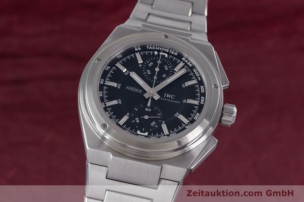 Used luxury watch IWC Ingenieur chronograph steel automatic Kal. 79350 Ref. 3725  | 160025 04