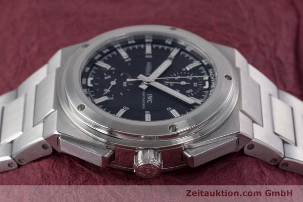 Used luxury watch IWC Ingenieur chronograph steel automatic Kal. 79350 Ref. 3725  | 160025 05