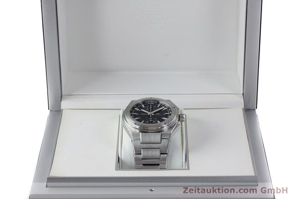 Used luxury watch IWC Ingenieur chronograph steel automatic Kal. 79350 Ref. 3725  | 160025 07