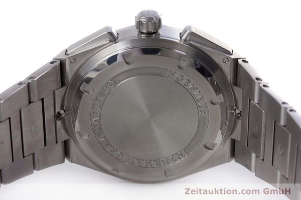 Used luxury watch IWC Ingenieur chronograph steel automatic Kal. 79350 Ref. 3725  | 160025 09