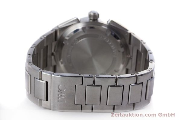 Used luxury watch IWC Ingenieur chronograph steel automatic Kal. 79350 Ref. 3725  | 160025 13
