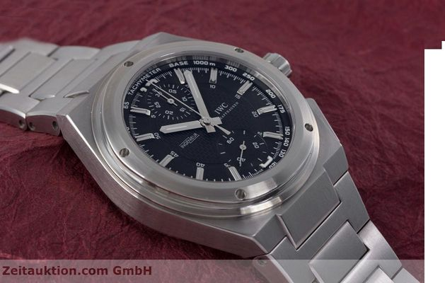 Used luxury watch IWC Ingenieur chronograph steel automatic Kal. 79350 Ref. 3725  | 160025 16