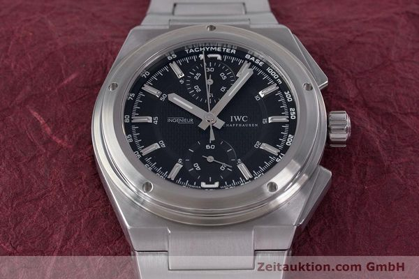 Used luxury watch IWC Ingenieur chronograph steel automatic Kal. 79350 Ref. 3725  | 160025 17