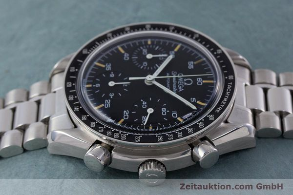Used luxury watch Omega Speedmaster chronograph steel automatic Kal. 1140 ETA 2890-2 Ref. 1750032, 1750033  | 160026 05