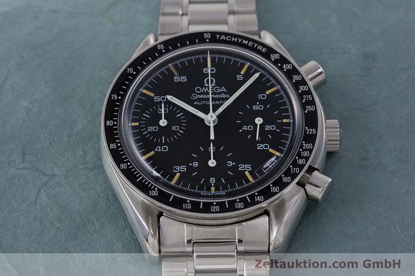 Used luxury watch Omega Speedmaster chronograph steel automatic Kal. 1140 ETA 2890-2 Ref. 1750032, 1750033  | 160026 15