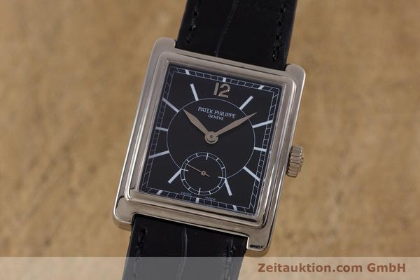 PATEK PHILIPPE GONDOLO 18 CT WHITE GOLD MANUAL WINDING KAL. 215 LP: 20570EUR  [160035]