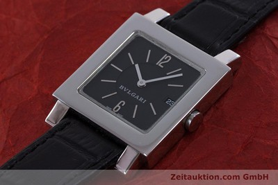 BVLGARI QUADRATO STEEL QUARTZ [160041]