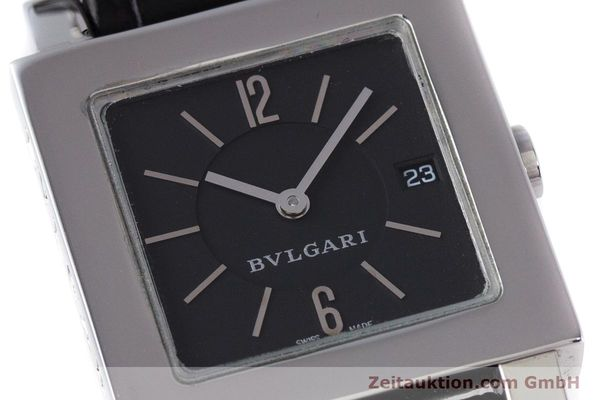Used luxury watch Bvlgari Quadrato steel quartz Ref. SQ27SLD  | 160041 02
