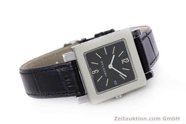 Used luxury watch Bvlgari Quadrato steel quartz Ref. SQ27SLD  | 160041 03