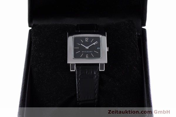 Used luxury watch Bvlgari Quadrato steel quartz Ref. SQ27SLD  | 160041 07