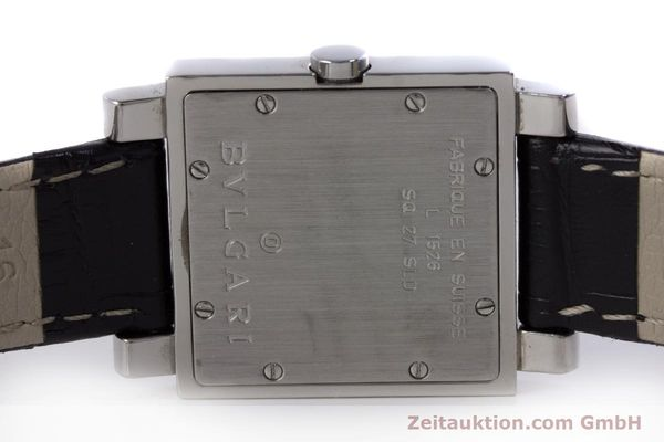 Used luxury watch Bvlgari Quadrato steel quartz Ref. SQ27SLD  | 160041 09