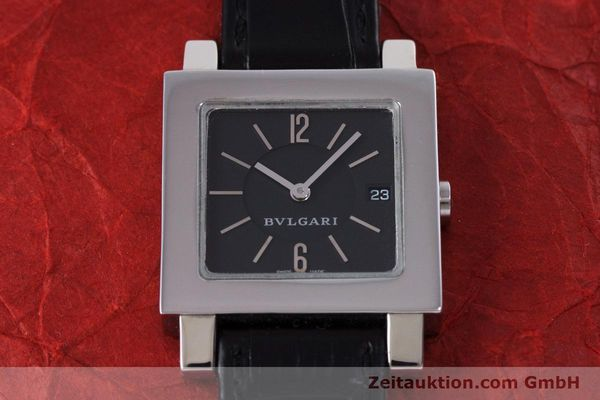 Used luxury watch Bvlgari Quadrato steel quartz Ref. SQ27SLD  | 160041 12