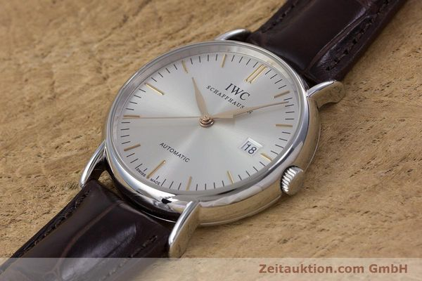 Used luxury watch IWC Portofino steel automatic Kal. 30110 Ref. 3563  | 160043 01
