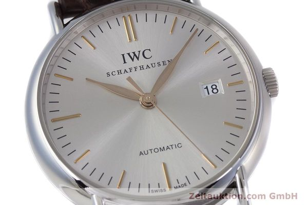 Used luxury watch IWC Portofino steel automatic Kal. 30110 Ref. 3563  | 160043 02