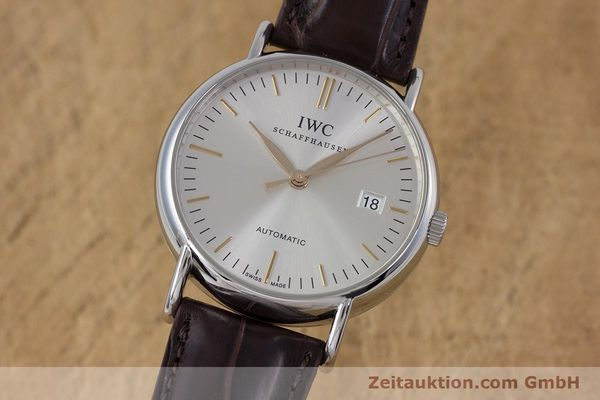 Used luxury watch IWC Portofino steel automatic Kal. 30110 Ref. 3563  | 160043 04