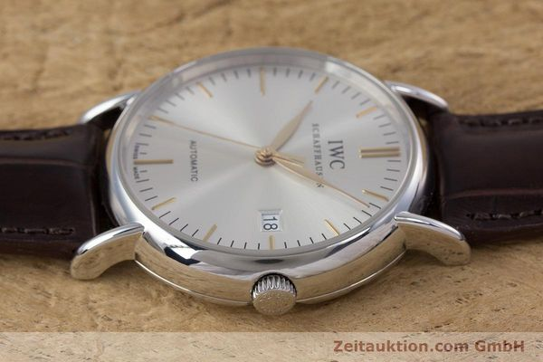 Used luxury watch IWC Portofino steel automatic Kal. 30110 Ref. 3563  | 160043 05