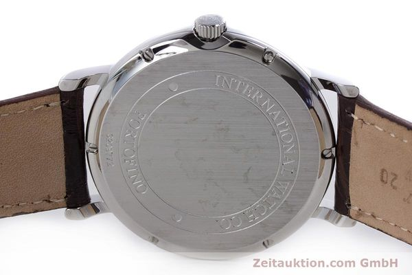 Used luxury watch IWC Portofino steel automatic Kal. 30110 Ref. 3563  | 160043 08