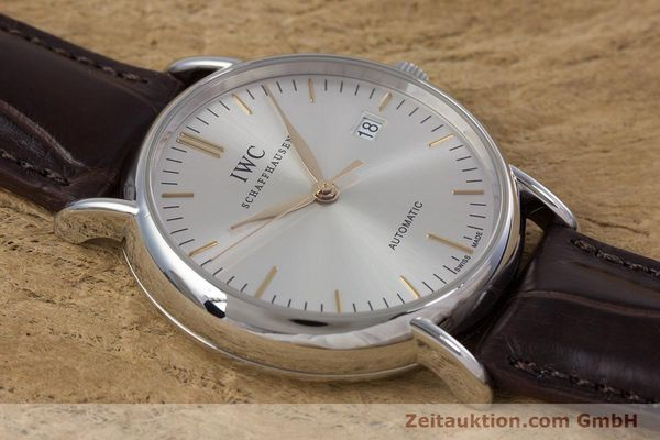 Used luxury watch IWC Portofino steel automatic Kal. 30110 Ref. 3563  | 160043 14