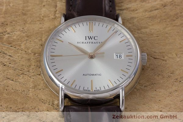 Used luxury watch IWC Portofino steel automatic Kal. 30110 Ref. 3563  | 160043 15