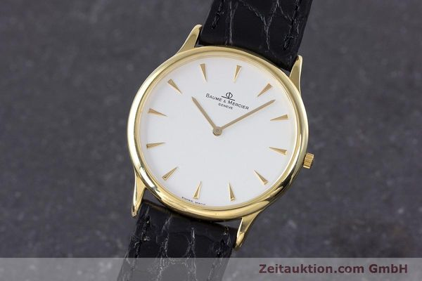 BAUME & MERCIER CLASSIMA 18K (0,750) RONDE GOLD HERRENUHR MEDIUM [160048]
