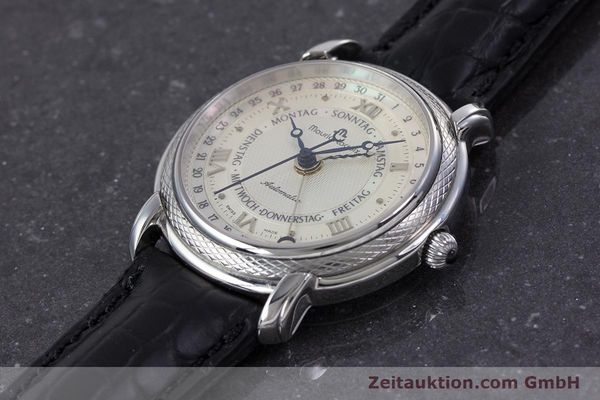 Used luxury watch Maurice Lacroix Masterpiece steel automatic Kal. ML27 Ref. 27561-11  | 160054 01