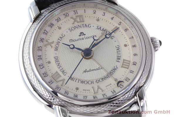 Used luxury watch Maurice Lacroix Masterpiece steel automatic Kal. ML27 Ref. 27561-11  | 160054 02