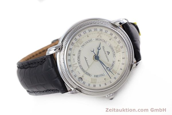 Used luxury watch Maurice Lacroix Masterpiece steel automatic Kal. ML27 Ref. 27561-11  | 160054 03