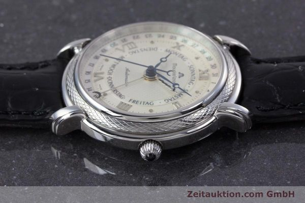 Used luxury watch Maurice Lacroix Masterpiece steel automatic Kal. ML27 Ref. 27561-11  | 160054 05