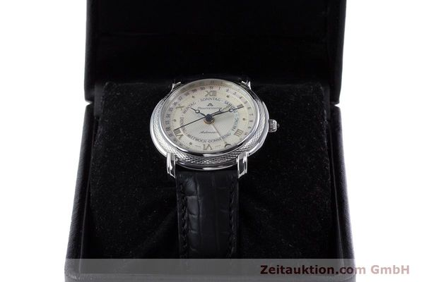 Used luxury watch Maurice Lacroix Masterpiece steel automatic Kal. ML27 Ref. 27561-11  | 160054 07