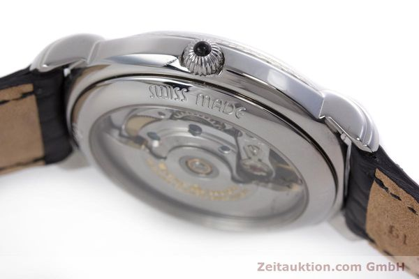 Used luxury watch Maurice Lacroix Masterpiece steel automatic Kal. ML27 Ref. 27561-11  | 160054 11