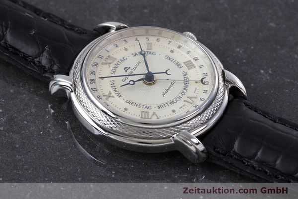 Used luxury watch Maurice Lacroix Masterpiece steel automatic Kal. ML27 Ref. 27561-11  | 160054 14