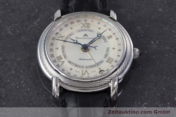 Used luxury watch Maurice Lacroix Masterpiece steel automatic Kal. ML27 Ref. 27561-11  | 160054 15
