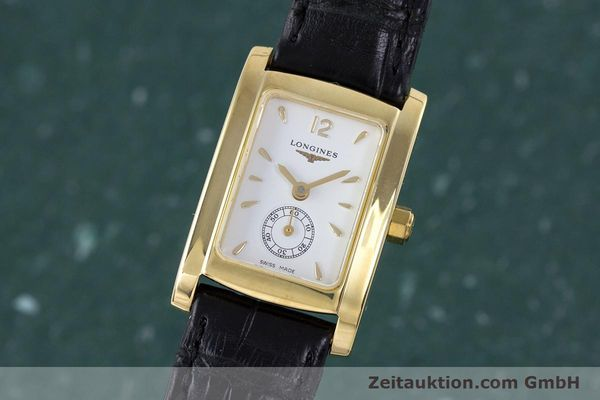 LONGINES DOLCE VITA OR 18 CT QUARTZ KAL. ETA 980.153 LP: 2400EUR [160058]
