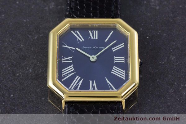 Used luxury watch Jaeger Le Coultre * 18 ct gold manual winding Kal. 818/3 Ref. 9101 21  | 160059 14