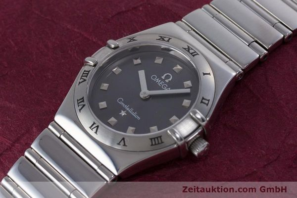 Used luxury watch Omega Constellation steel quartz Kal. 1456 ETA 976001  | 160060 01