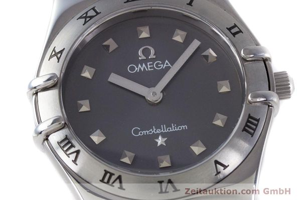 Used luxury watch Omega Constellation steel quartz Kal. 1456 ETA 976001  | 160060 02