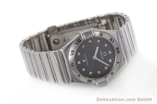 Used luxury watch Omega Constellation steel quartz Kal. 1456 ETA 976001  | 160060 03