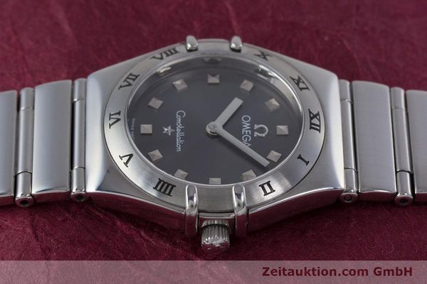 Used luxury watch Omega Constellation steel quartz Kal. 1456 ETA 976001  | 160060 05