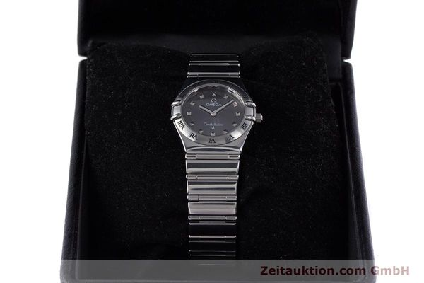 Used luxury watch Omega Constellation steel quartz Kal. 1456 ETA 976001  | 160060 07